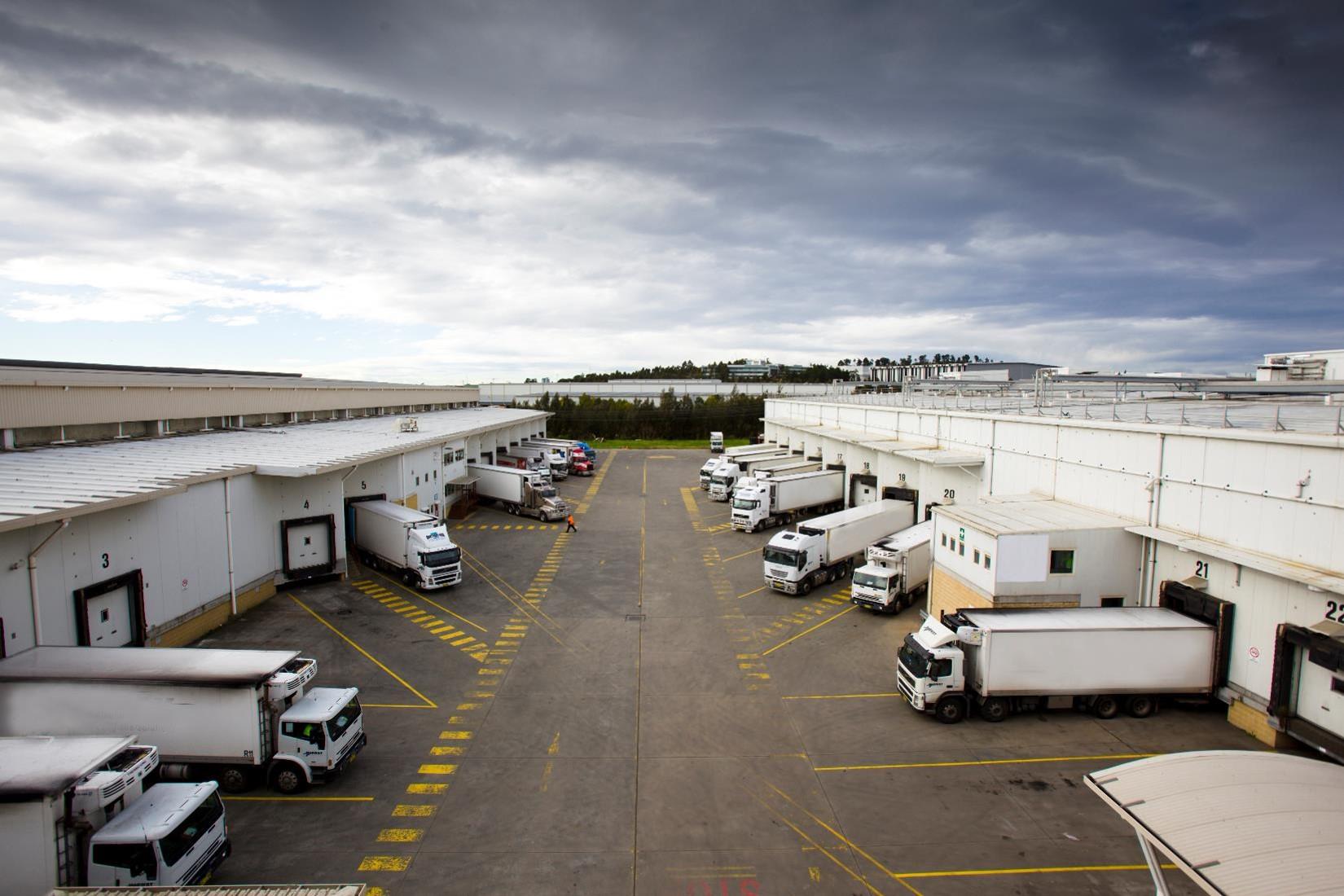 Americold's Prospect NSW Facility